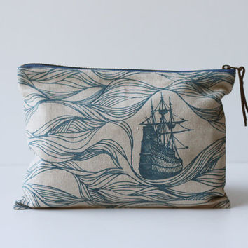 Ships Large Pouch/Clutch