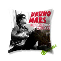 Bruno Mars Just The Way You Are Square Pillow Cover
