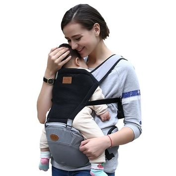 Toddler Backpack class 2017 Summer Baby Carrier Sling Toddler Kangaroo Backpack Carrier Hipseat Baby Care Activity&gear Product AT_50_3