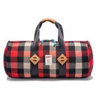 Fall Essentials | Woolrich x Topo Duffel