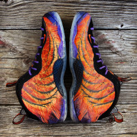 "Custom ""Pheonix Rising"" Foamposite by GourmetKickz"