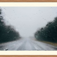 Rainy Road by Andrea Anderegg Photography