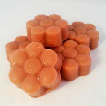 White Tea Highly Scented Wax Tart Melts (6 pack) - Wickless Flameless Candles - Candle Melt Tarts - Sweet Cotton Candy Scent