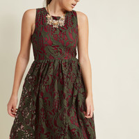 Subtly Splendid Lace Dress