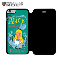 Alice in Wonderland Poster iPhone 6 Plus Flip Case|iPhonefy
