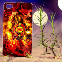 Manchester United FC - Photo Print for iPhone 4/4s, iPhone 5/5s/5C, Samsung S3 i9300, Samsung S4 i9500 Hard Case