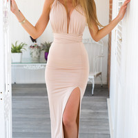 Grace Maxi Dress (blush)
