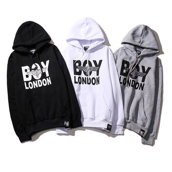 Unisex Boy London Pullover Sweatshirt