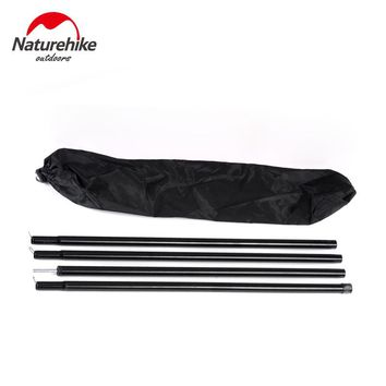 NatureHike 2m Reinforced Pole Folding Rods For Anti UV Ultralight Sun Shelter Beach Tent Pergola Awning Canopy Tarp Sunshade