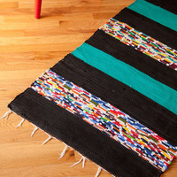 Hall I Ever Wanted Rug in Black - 4.75x2.25 | Mod Retro Vintage Decor Accessories | ModCloth.com