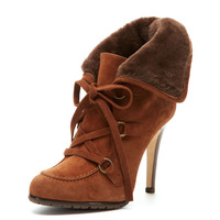 Sisi Suede Bootie