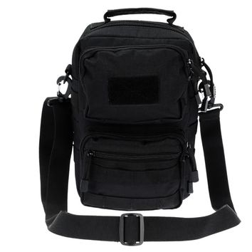 Outdoor Tactical Shoulder Bag Pack Adjustable Crossbody Bag Sling Bag for Camping & Hunting