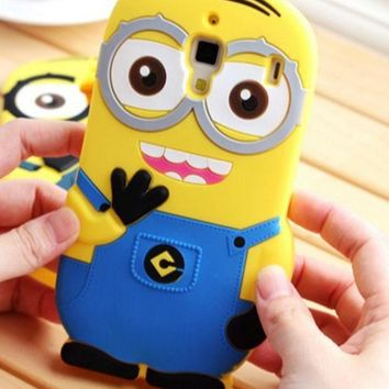 DCCK0OQ Minions Apple Iphone Phone Case Silicone Phone Case [8864221447]