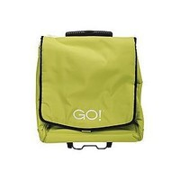 AccuQuilt GO! Fabric Cutter Tote; Lime Green; 11x17.5x19 inch