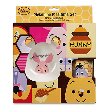 Winnie the Pooh and Friends Melamine Mealtime Set