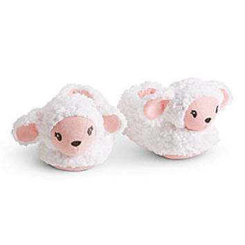American Girl® Accessories: Lamb Slippers for Girls