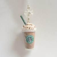 Scented Starbucks inspired Mocha Frappuccino Miniature by NeatEats