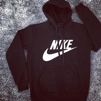 MDIGON1O Day First NIKE Women Fashion Hooded Top Sweatshirt Sweater Pullover