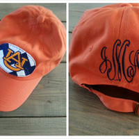 College Football Monogrammed Hat