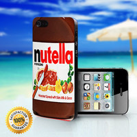 Nutella Chocolate - For iPhone 4/4s, iPhone 5, iPhone 5s, iPhone 5c case. Please choose the option