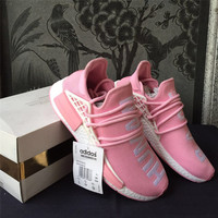 Womens Brand Originals Running Shoes Human Race Sneakers Sport Boost ADS