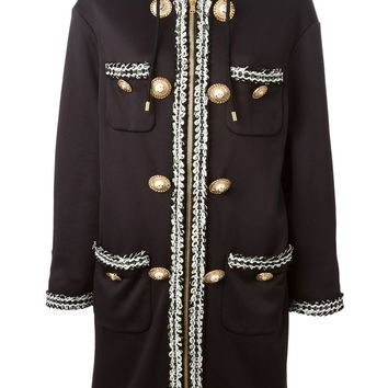 Moschino hooded coat