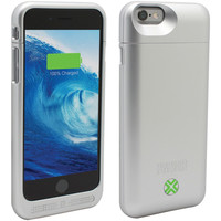 "Lenmar Iphone 6 4.7"" Power Case (silver)"