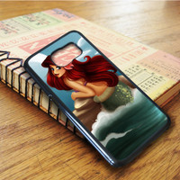 Disney Princess Ariel The Little Mermaid Samsung Galaxy S6 Edge Case