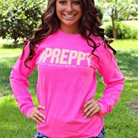 Preppy Long Sleeve Tee