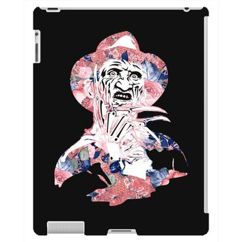 freddy krueger floral iPad 3 and 4 Case