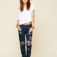 One Teaspoon Womens Awesome Destroyed Baggies