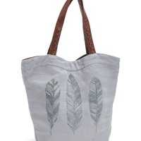Feathers Wave Tote