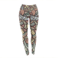 "Danny Ivan ""Wild Run"" Yoga Leggings"
