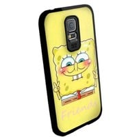 Cute Spongebob Best Friends for Best Iphone and Samsung Galaxy Case (samsung galaxy s5 black)
