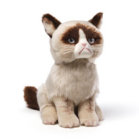 Grumpy Cat 10-Inch Plush - Gund - Grumpy Cat - Plush at Entertainment Earth