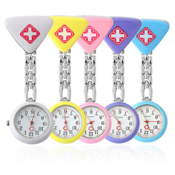 Red Cross Nurse's Fob Watch