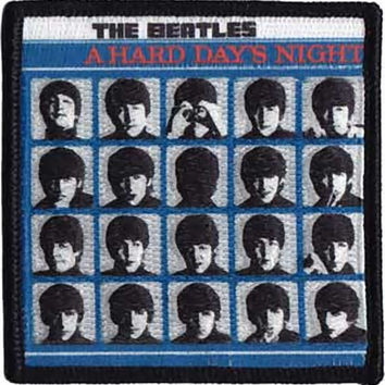 The Beatles Iron-On Patch A Hard Days Night