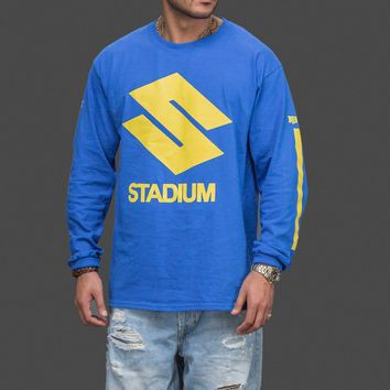 auguau JUSTIN BIEBER STADIUM TOUR LONG SLEEVE T-SHIRT