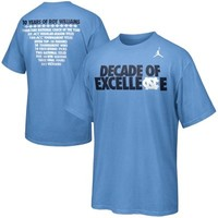 Nike North Carolina Tar Heels (UNC) Official 2013-2014 Basketball Student Body T-Shirt - Carolina Blue