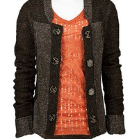 BKE Wool Blend Cardigan Sweater