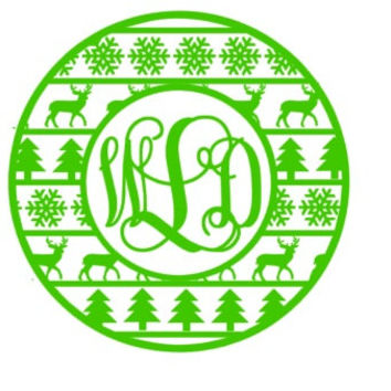 Monogram Christmas Shirt Christmas Monogram shirt Long Sleeve Monogram Tee Winter Holiday Monogram Shirt