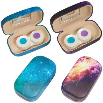 Stellar - Eye Contact Lens Case With Mirror