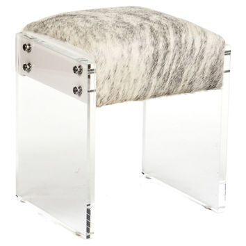 Victor Stool, Acrylic / Lucite, Vanity Stools