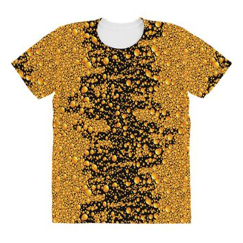 yellow bubble All Over Women's T-shirt