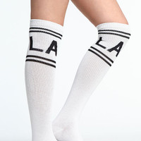 LA KNEE HIGH SOCKS