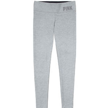 Fleece-lined Yoga Leggings - PINK - from VS PINK