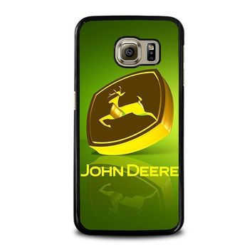 john deere samsung galaxy s6 case cover  number 4