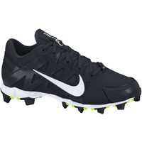 Nike Women's Hyperdiamond Keystone Softball Cleat - Black/White | DICK'S Sporting Goods