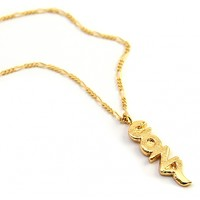 Mr. Kate | COZY Necklace. Yellow or Rose Gold.