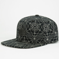 Lrg Transit Mens Snapback Hat Black One Size For Men 24687710001